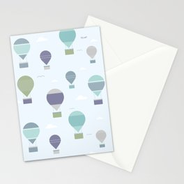 Hot Air Stationery Cards