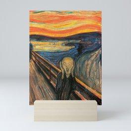 "Edvard Munch, "" The Scream "" Mini Art Print"