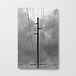 Wired III Metal Print