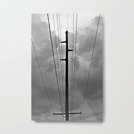 Wired III Metal Print