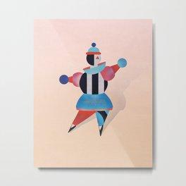 Bauhaus Ballet - Geometric Art  Metal Print