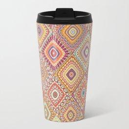 Granny's Millefiori Quilt-Spring Colors Travel Mug