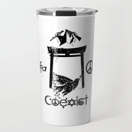Coexist Together in Peace Travel Mug