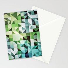 :: geometric maze II :: Stationery Cards