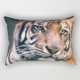 Tiger No 6 Rectangular Pillow