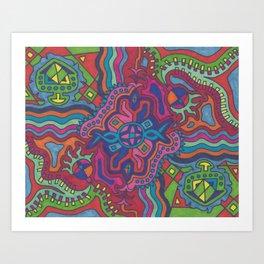 Chroma #1 Art Print