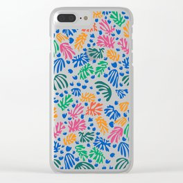Matisse Colorful Pattern #1 Clear iPhone Case
