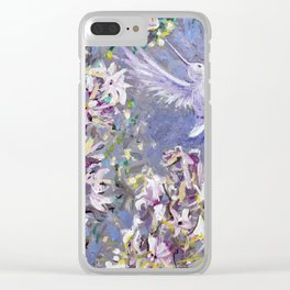 For Peace Clear iPhone Case
