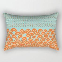 Infinite Wave Rectangular Pillow
