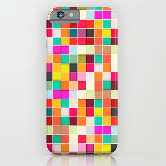 Colorful Rectangles iPhone & iPod Case