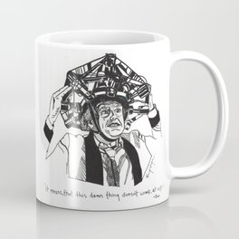 Back to the Future Drawing Coffee Mug