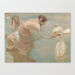 A Summer Morning by Rupert Bunny, 1897 Canvas Print