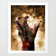 Hand of Doom Art Print