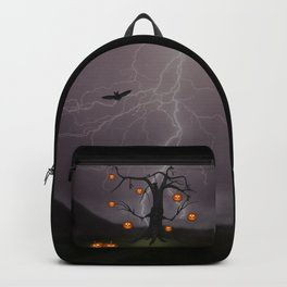 SCARY HALLOWEEN TREE Backpack