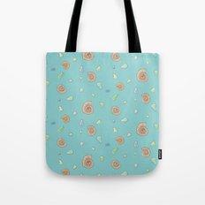Ammonite Pattern Tote Bag