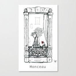 A Few Parisians: Monceau by David Cessac Canvas Print