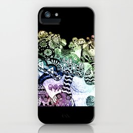 Mushroom Field iPhone Case