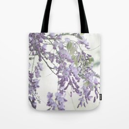 Wisteria Lavender Tote Bag