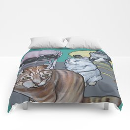 Four Cats Comforters