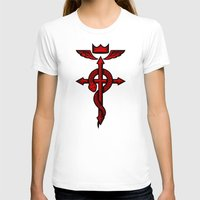 fullmetal T-shirts featuring Fullmetal Alchemist Flamel by R-evolution GFX