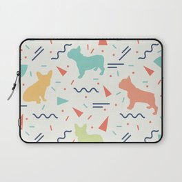 French Bulldog Pattern Laptop Sleeve