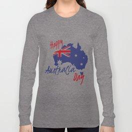 Happy Australia Day 2018 Long Sleeve T-shirt