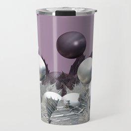 Spikes and Spheres Travel Mug