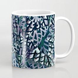 Tropical Jungle Leaves Mosaic #decor #buyartprints #society6 #botanical Coffee Mug