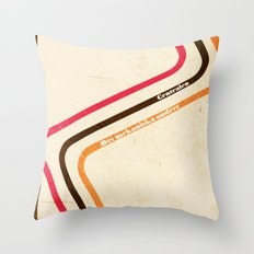 Centralen original artwork by Det mekaniska undret Throw Pillow