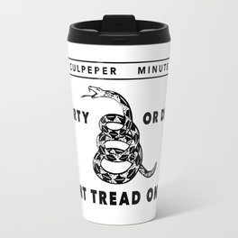Culpeper Minutemen flag - Authentic version Travel Mug