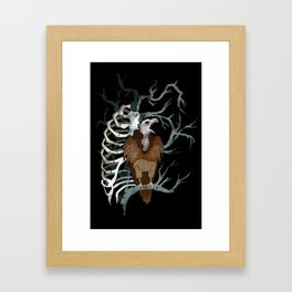 October Nights Framed Art Print