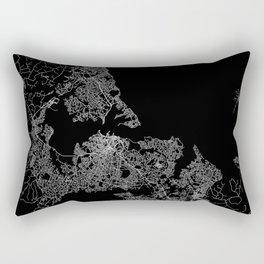 Auckland map New Zeland Rectangular Pillow