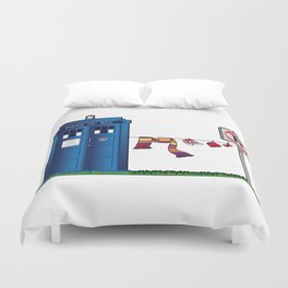 Doctor Who: tardis wardrobe  Duvet Cover