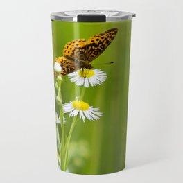 Meadow Butterfly Travel Mug
