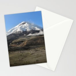 Cotopaxi volcano Stationery Cards