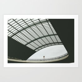 Amsterdam Centraal Train Station #2 Art Print