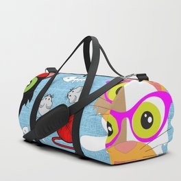 Cat's Meow Duffle Bag