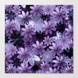 Ultra Violet Anemones of Tillandsia Canvas Print