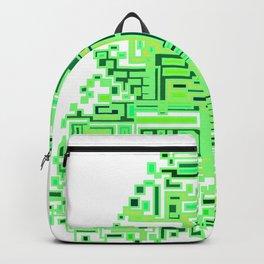 Neon Tree Of Line Backpack