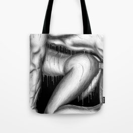 Feeling Your Warmth b&w Tote Bag