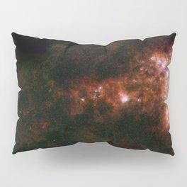 1441. A Dwarf Galaxy Star Bar and Dusty Wing Pillow Sham