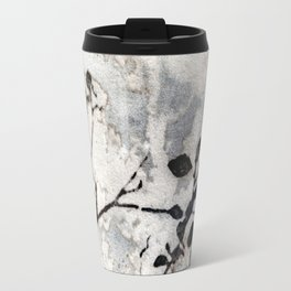 Desaturated Jungle Botanical Art Travel Mug