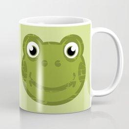 Cute Frog Face Coffee Mug