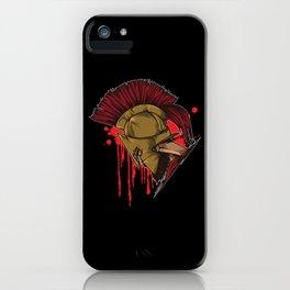 Spartan Warrior | Sparta Head Fighter Spartiate iPhone Case