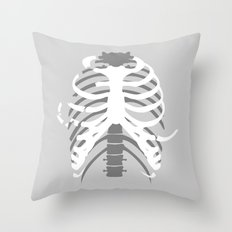 Your Body On Skate Throw Pillow