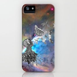 It was an act of love that created the things that control us. iPhone Case