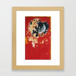 seri 4 Framed Art Print