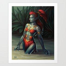 The Zandalari Art Print