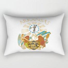 Arkansas seal Rectangular Pillow