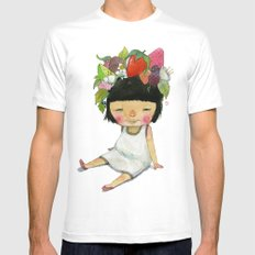 Spring  Mens Fitted Tee White MEDIUM